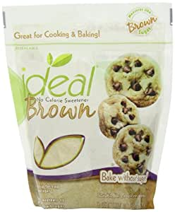 Ideal Brown No Calorie Sweetener, 10.6 oz.