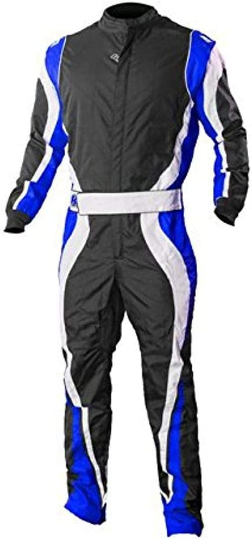 Red//White//Black, 5X-Small K1 Race Gear Speed 1 CIK//FIA Level 2 Approved Kart Racing Suit