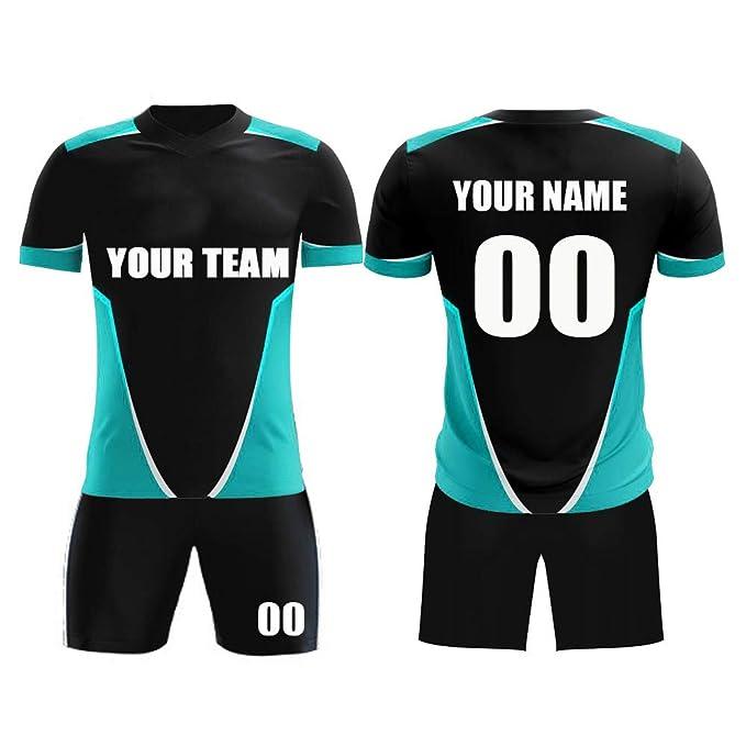 buy popular 809c7 4fd86 Amazon.com: M-W Sports Custom Soccer Jerseys Breathable ...