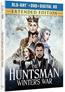 Cover Image for 'The Huntsman: Winter's War - Extended Edition (Blu-ray + DVD + Digital HD)'