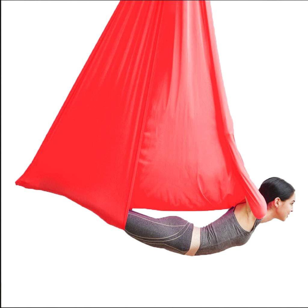 Yoga Aerial Schaukel Luft Hängematte Anti-Schwerkraft Schaukel Studio Invertierte Werkzeuge Luft Set Hohe Hängematte Für Innen, Ca. 500kg Aerial Fitness Set