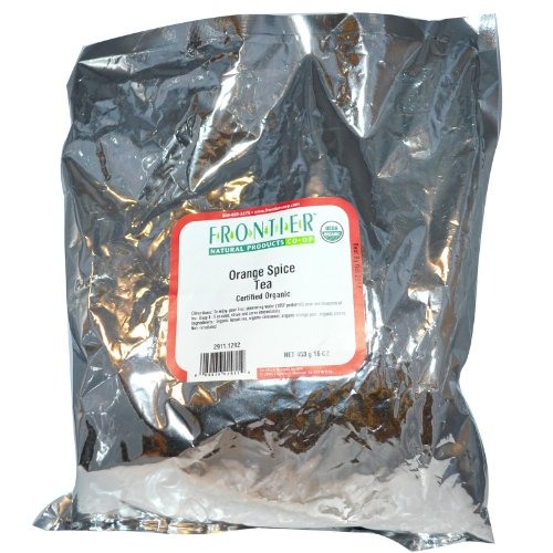 Frontier Natural Products 2911 Orange Spice Flavored Black Tea, Organic - Market Spice Organic Tea