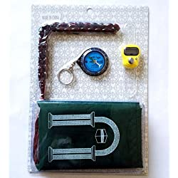 Eioo Tech Islamic Muslim Prayer Mat /Finger Counter/ Muslim Compass / Prayer Beads Whole Set Sell