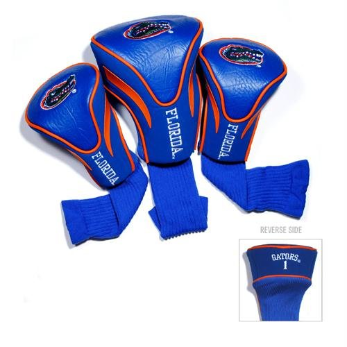 Florida Golf Gators Shaft (Team Golf NCAA 3 Pack Golf Contour Sock Headcovers Blue)