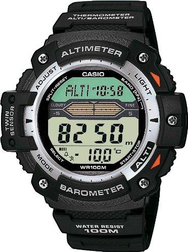 orologi casio con altimetro barometro termometro