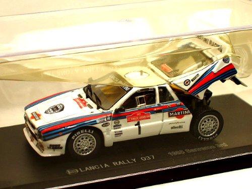 1/43 LANCIA RALLY 037 1985 Sanremo 3rd MARTINI #1(ホワイト×レッド×ブルー) 03181C