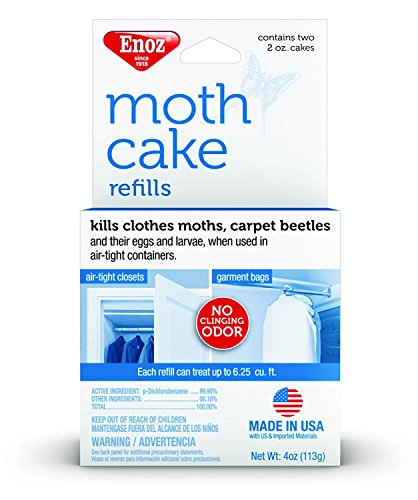 Enoz Moth Cake Refills - (6) by ()