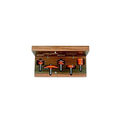 CMT Orange Tools 900.510.11 - Estuche 5 fresas para cocinas ...