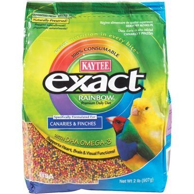 Kaytee Exact Rainbow Parrot and Conure Premium Daily Diet, 2.5-Pound, My Pet Supplies