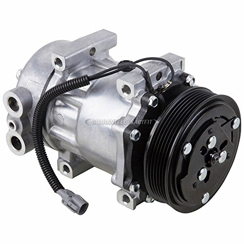 AC Compressor & A/C Clutch For Jeep Wrangler TJ Cherokee XJ Dodge Dakota - BuyAutoParts 60-01315NA NEW