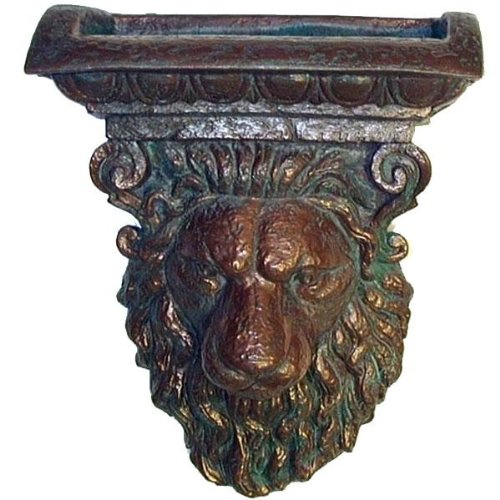 Pentair 5823506 WallSpring Silver Sheer Lion Sconce Decorative Accent