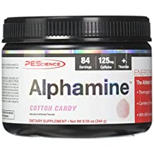 PEScience Alphamine, Cotton Candy, 84 Servings