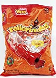 Vero Mexican Tamarindo Candy Rellerindos New Chamoy Sandia Flavor - 65 Pieces Count Limited edition Tamarindo Shaped Flavored spicy intense tasty mexican hard caramel candy snacks [Misc.]
