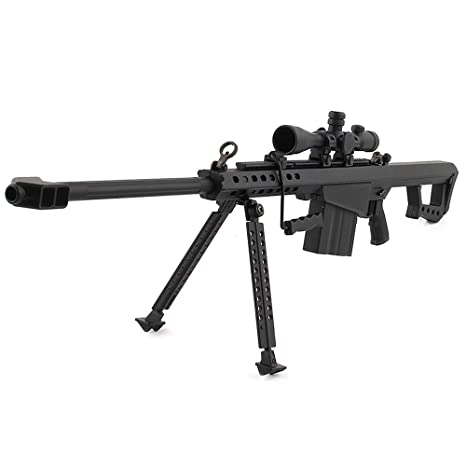 Mini Pew USA 50 Cal  50 Caliber Sniper Scale Model Die-cast Replica Gun  Non-Firing