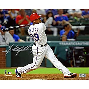 "Adrian Beltre Texas Rangers Autographed 8"" x 10"" Hitting Photograph Fanatics Authentic Certified Autographed MLB Photos"