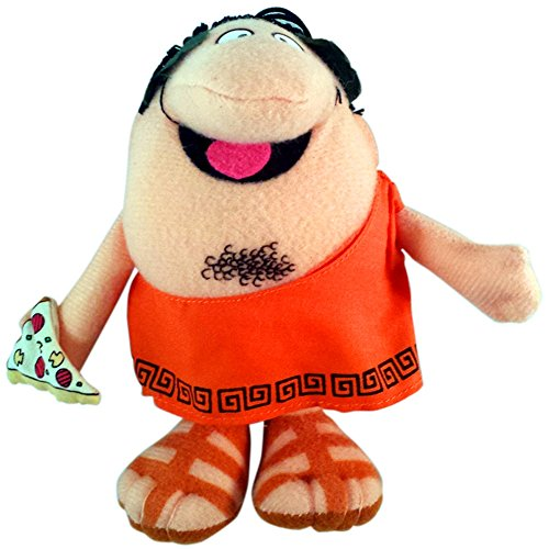 vintage-little-caesars-pizza-plush-doll-puppet-roman-man-6-inch-in-sealed-baggie
