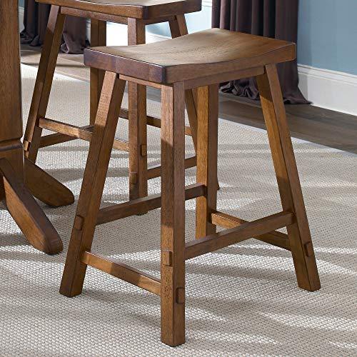 Liberty Furniture 38-B1824 Creations II Sawhorse Barstool, 19