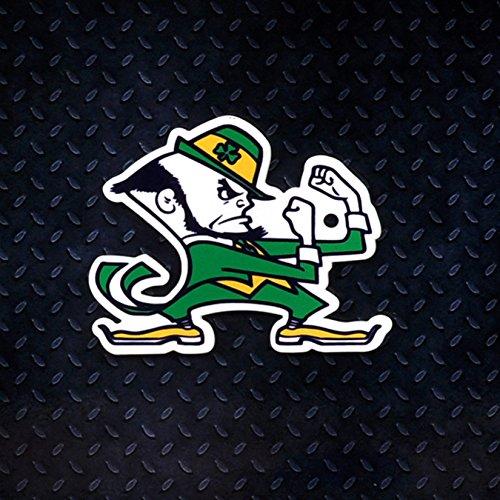 Authentic Street Signs NCAA Super Steel 4 Inch Magnet (Notre Dame Fighting Irish-Leprechaun)