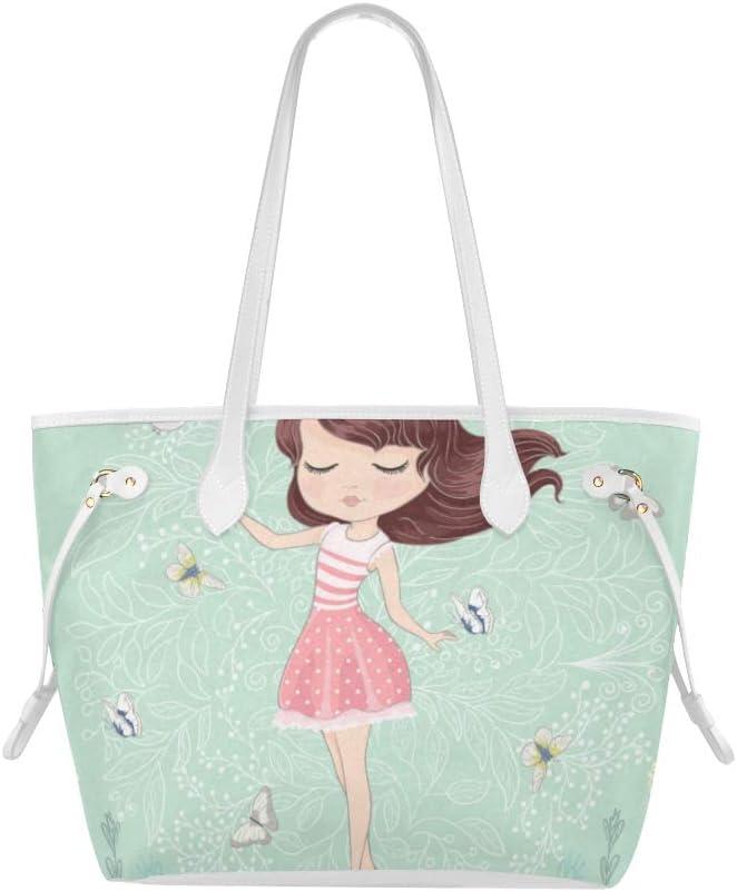 Girly Girl Tote Bag