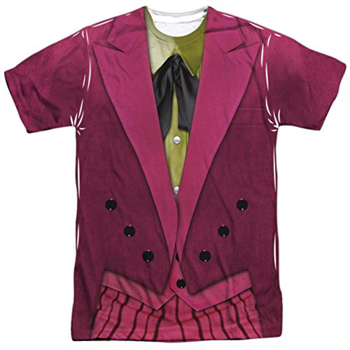 Nicholson Costume The Joker Jack (Batman Classic TV- Joker Costume Tee T-Shirt Size)
