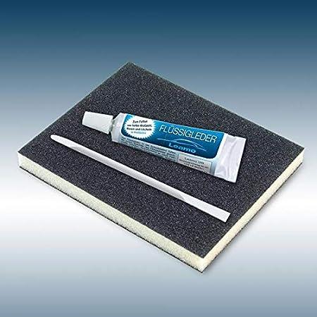 Flüssigleder Nach Ral 9ml Inkl Schleifad Und Spatel Leder Smart Repair Ral 8017 Schokobraun Küche Haushalt