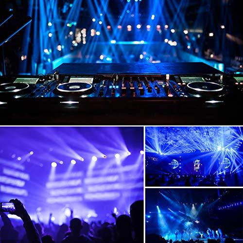 BETOPPER DJ Par Light 60 LED RGB 95W Slim Strobe Stage Wash Lighting Uplight DMX Disco Party Lights for Church Event, Birthday,Wedding, School Events, Mobile DJ,Music Live Show etc.