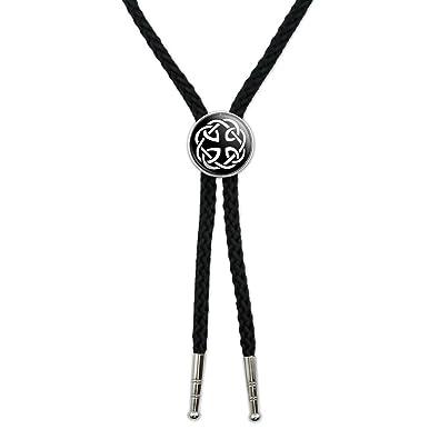 8d64e4e189f4 Amazon.com: Celtic Knot Western Southwest Cowboy Necktie Bow Bolo Tie:  Graphics and More: Jewelry