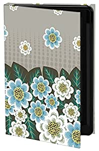 Keka Classic Carrie Tasman Blue Border - Funda rígida para Samsung Galaxy S3, diseño de flores retro