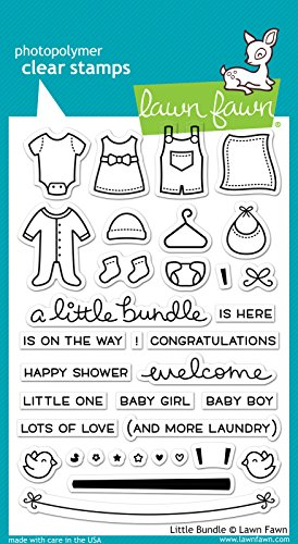 Lawn Fawn Clear Stamp - Little Bundle