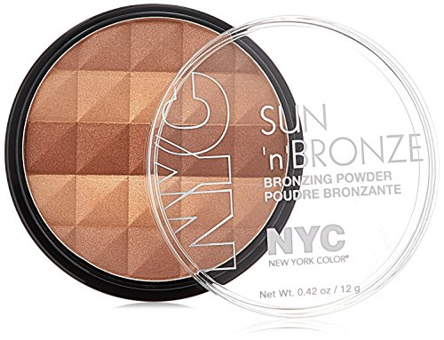 (N.Y.C. New York Color Sun Bronzing Powder, Fire Island Tan, 0.42 Ounce)