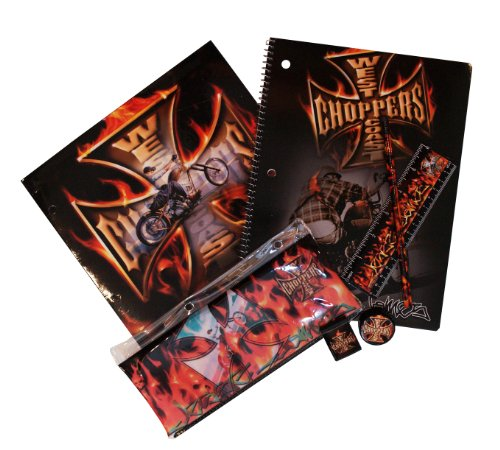 West Coast Choppers Collectible Stationery Value Pack