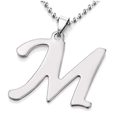 iMETACLII Grande Nombre Inicial Letra del Alfabeto M ...