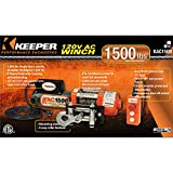 Keeper-12V-Rapid-Mount-Portable-Winch-with-Handheld-Remote