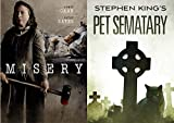 Stephen King's Classics Brought to the Big Screen: Misery & Pet Sematary 2 DVD Collection