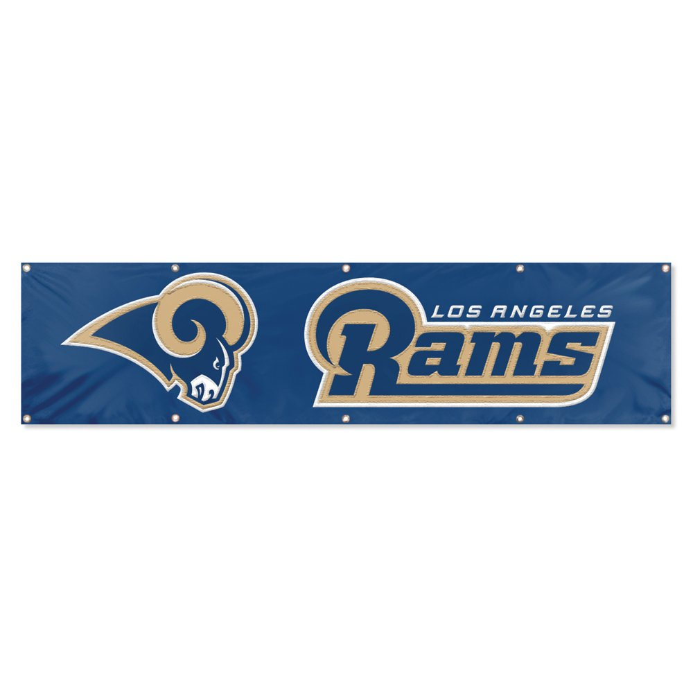 Party Animal Los Angeles Rams 8'x2' NFL Banner by Party Animal