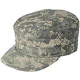Genuine Issue US Military ACU Digital Camo Ripstop Patrol Caps, Utility/Patrol, Ripstop, Size 7 3/4 (X-Large)
