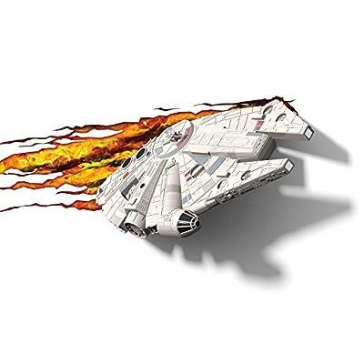 3DLightFX Star Wars Millennium Falcon 3D Deco Light