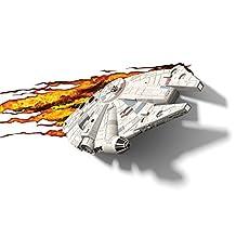 3D Light FX Star Wars Millenium Falcon 3D-Deco LED Wall Light