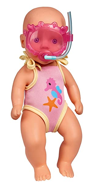 Simba 105030172 New Born Baby Badepuppe: : Spielzeug