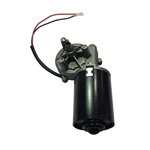 BEMONOC High Torque 24V DC Electric Right Angle Reversible Gear Motor 50 RPM(Left Gear-Box) Electric Motors for DIY Engine