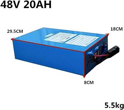 Alto Voltaje 2000W 48V 20AH 30AH 40AH 60AH Batería de bicicleta ...