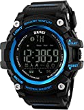 Men's running timer Sports step counter Calorie calculation Mileage record Incoming call alert Remote control camera EL backlight Target management 50M waterproof smart watch