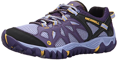 Merrell Women's All Out Blaze Aero Sport Hiking Water Shoe,Parachute Purple,8 M - Park National Mt Rainier Trail