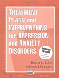 img - for Treatment Plans and Interventions for Depression and Anxiety Disorders (Clinician's Toolbox) by Robert L. Leahy (2000-04-20) book / textbook / text book