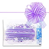 Little Snow Direct?? 5 x Large 6 Luxury Organza Pull Bows, Perfect for Gifts Wedding Pews Wedding Cars and Venue Decorations - Lilac by Little Snow Direct ??