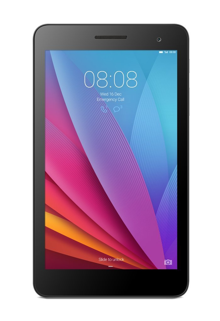Huawei MediaPad T1 7.0 Quad Core 7'' Android (KitKat) +EMUI Tablet 8GB, Silver/Black (US Warranty)