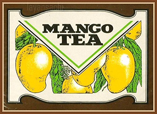 Sri Lanka Ceylon Mlesna Flavored Tea 20 TEA BAGS x 4 (Mango)