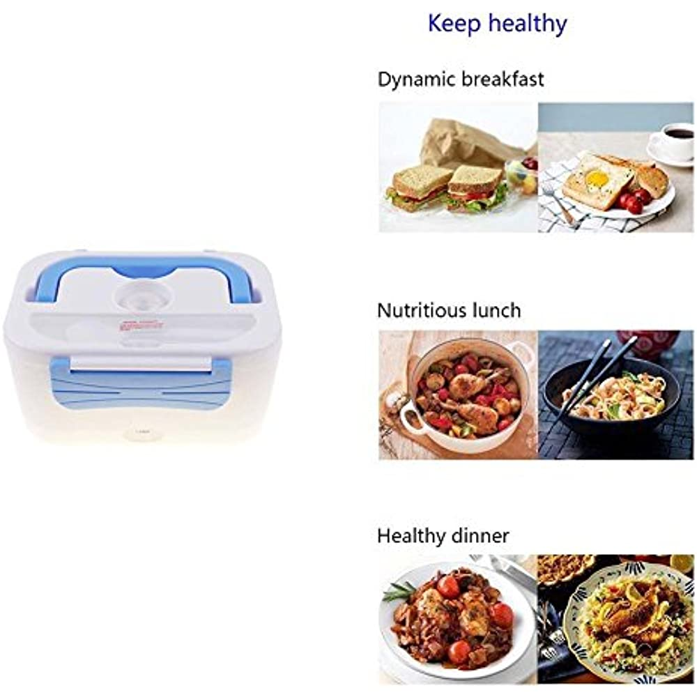 Lunch Boxes Portable 12v Car Use Electric Heating Bento