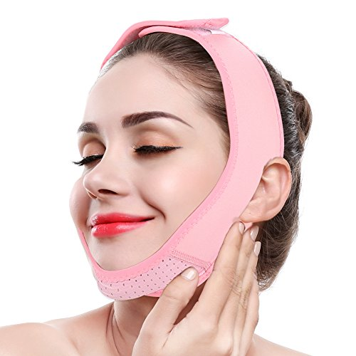 Strict Facial Slimming Belt Beauty Face-lift Mask Massage Shaper Face Slimming Chin Neck Lift Up Bandage Correction Skin Care Belt Band Elegant And Sturdy Package Health Care Back To Search Resultsbeauty & Health