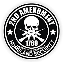 3 - 2nd Amendment Vinyl Decals / Stickers AR-15 AR15 Lower, Helmets, Hard Hats, Tool Boxes